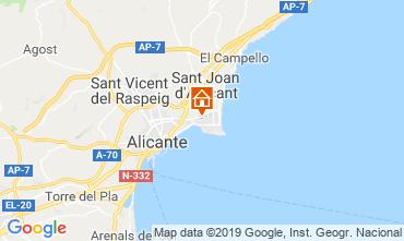 Mapa Alicante Apartamento 118634