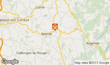 Mapa Brive-la-Gaillarde Chalet 99381