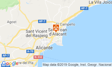 Mapa Alicante Apartamento 117974