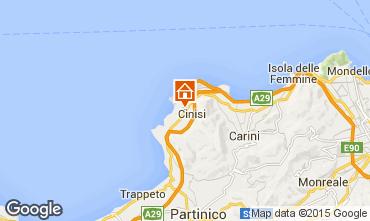 Mapa Terrasini Villa 72013