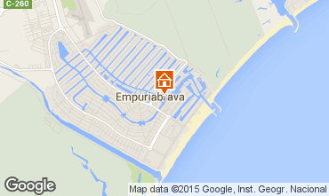 Mapa Ampuriabrava Casa 94372