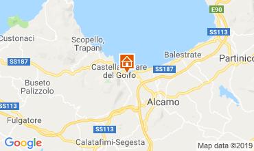 Mapa Castellammare del Golfo Villa 103445
