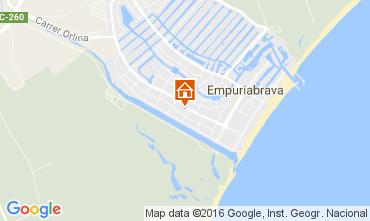 Mapa Ampuriabrava Casa 107352