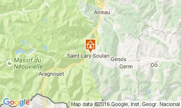 Mapa Saint Lary Soulan Apartamento 106731