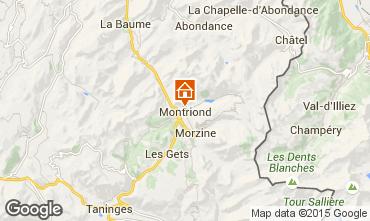 Mapa Morzine Casa rural 101271