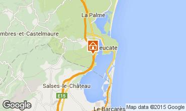 Mapa Port Leucate Casa 29598