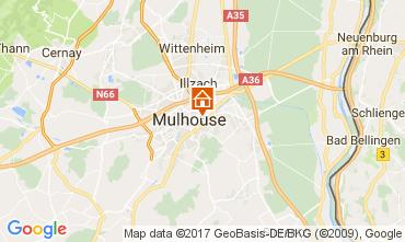 Mapa Mulhouse Apartamento 107705
