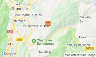 Mapa Chamrousse Chalet 742