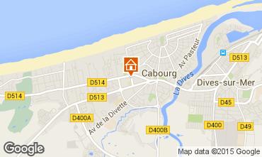 Mapa Cabourg Apartamento 69564