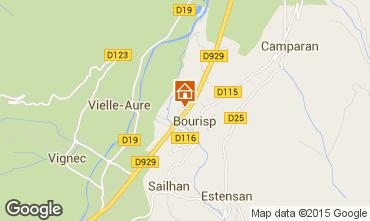 Mapa Saint Lary Soulan Casa rural 63713