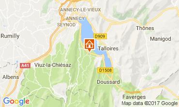 Mapa Annecy Apartamento 112137