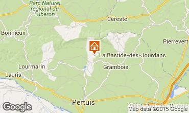 Mapa La Tour d'Aigues Villa 24563