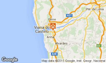 Mapa Viana Do castelo Casa rural 58600