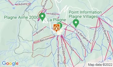 Mapa La Plagne Chalet 118998