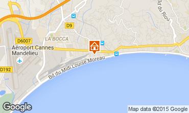 Mapa Cannes Apartamento 82546