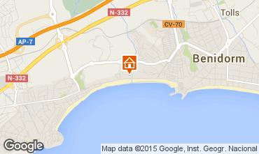 Mapa Benidorm Apartamento 16350