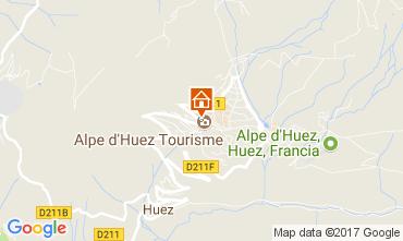 Mapa Alpe d'Huez Apartamento 64