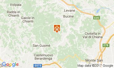 Mapa Siena Casa rural 109624
