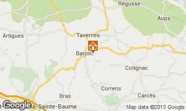 Mapa Barjols Apartamento 96501