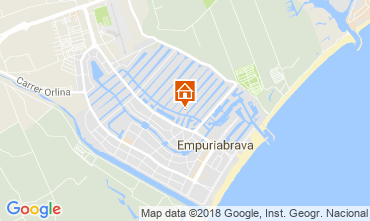 Mapa Ampuriabrava Villa 94112