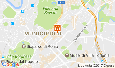 Mapa Roma Apartamento 109687