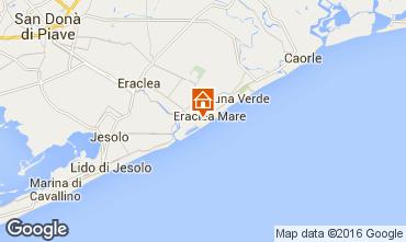 Mapa Eraclea Mare Apartamento 90467