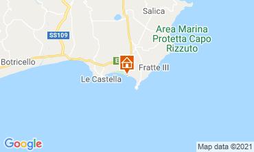 Mapa Isola di Capo Rizzuto Apartamento 79202