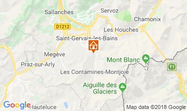 Mapa Saint Gervais Mont-Blanc Chalet 116893