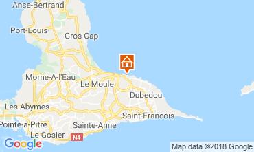 Mapa Le Moule Apartamento 117382
