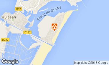 Mapa Gruissan-Plage Apartamento 72902