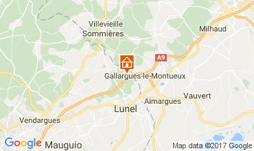 Mapa La Grande Motte Villa 104733