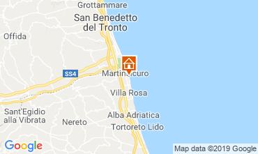 Mapa Martinsicuro Apartamento 95694