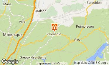 Mapa Valensole Villa 73835