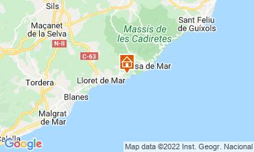 Mapa Tossa de Mar Villa 112326