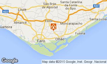 Mapa Olhão Villa 71092