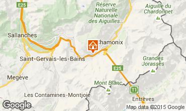 Mapa Chamonix Mont-Blanc Apartamento 93214