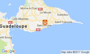 Mapa Sainte Anne (Guadalupe) Apartamento 102738