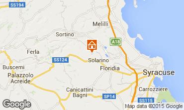 Mapa Siracusa Villa 92428