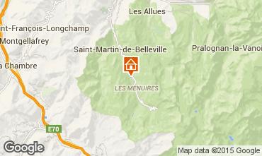 Mapa Les Menuires Chalet 78159