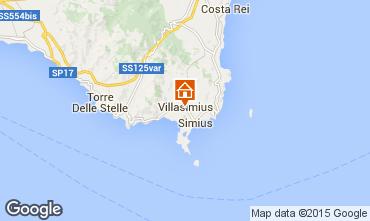 Mapa Villasimius Apartamento 64239