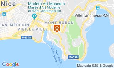 Mapa Niza Villa 117272