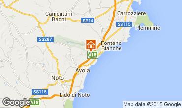 Mapa Siracusa Villa 67859