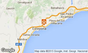 Mapa Estepona Villa 58722