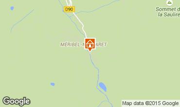 Mapa M�ribel Apartamento 49730