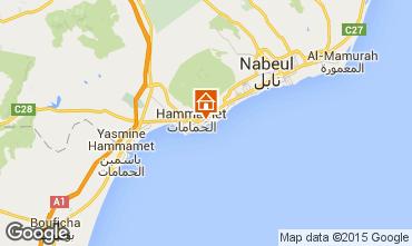 Mapa Hammamet Villa 64711
