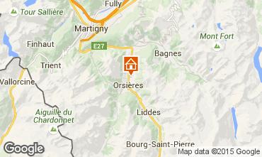 Mapa Verbier Chalet 89126