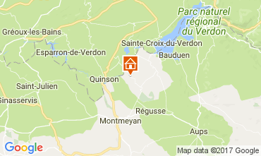 Mapa Artignosc-sur-Verdon Casa 111099