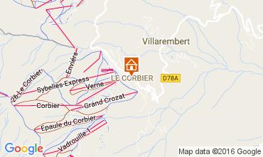 Mapa Le Corbier Apartamento 66835