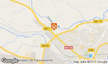 Mapa Carcassonne Apartamento 18836