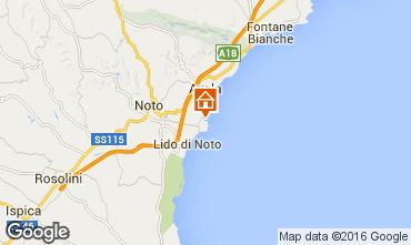 Mapa Avola Villa 75799